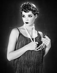 Flapper dress from the twenties