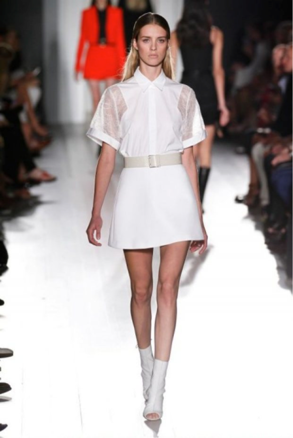 skater skirt straight off the catwalk