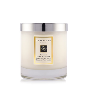 The Jo Malone French Lime Blossom  Home Candle is on my wish list.