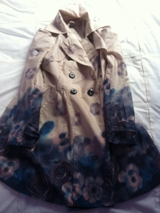 Flower inspired coat