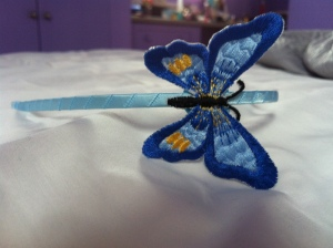 Butterfly inspired headband